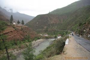 Paro-Thimphu highway