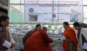 Launch of organic manure