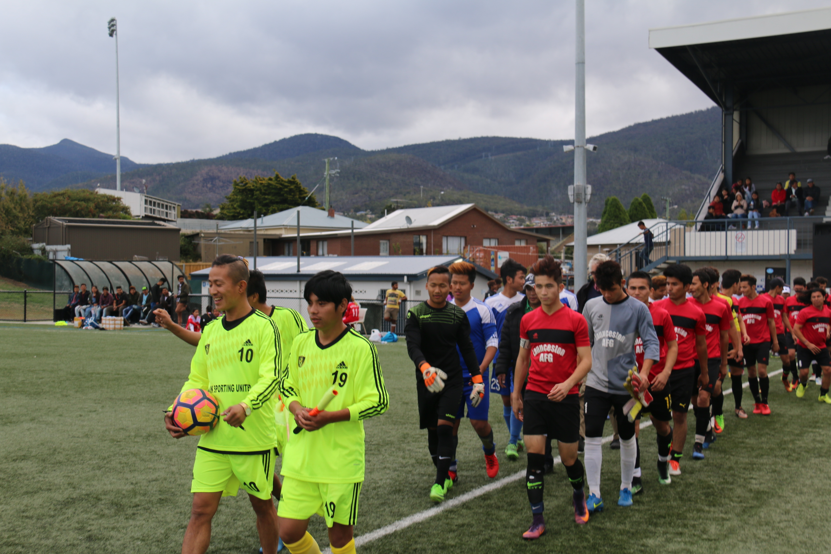 Fourth multicultural soccer in Hobart