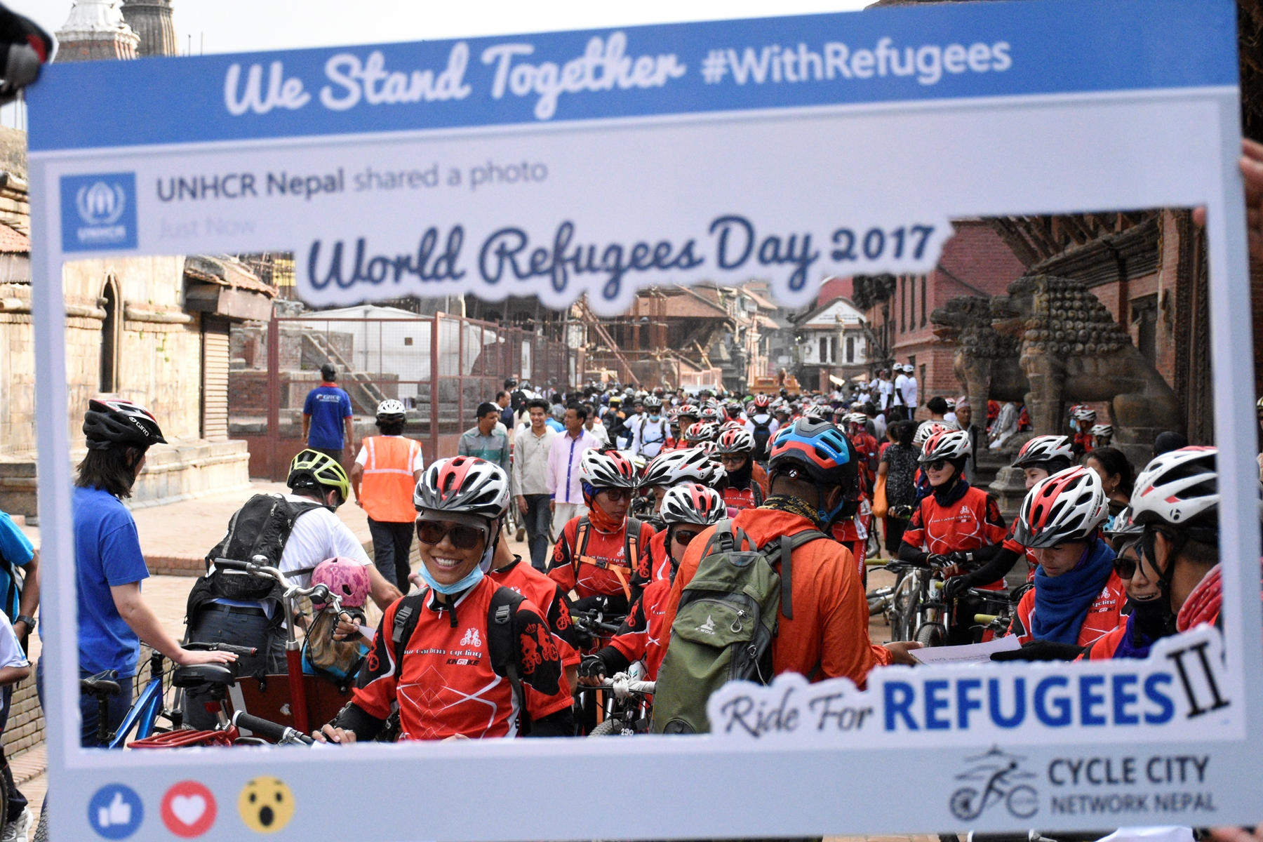 UNHCR Nepal marks World Refugee Day